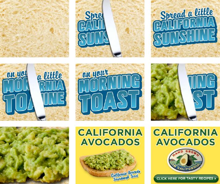 Spread Some California Sunshine Web Banner