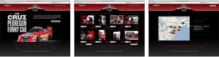 No Compromise Tour online concept