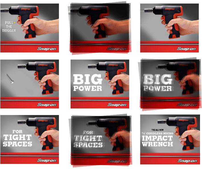 Impact Wrench Shaking Web Banner