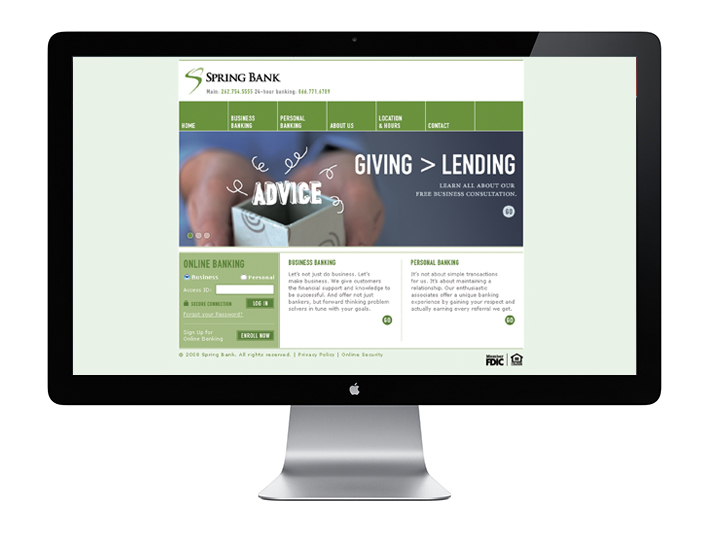 Spring Bank Website