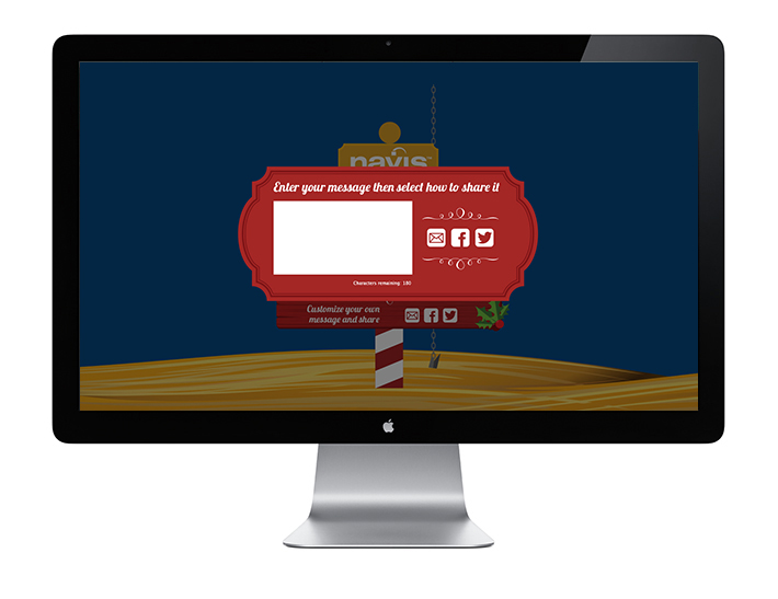 Navis Digital Christmas Card—Share